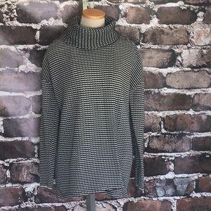 CAbi 3167 Fergie Cowl Turtleneck Sweater Medium